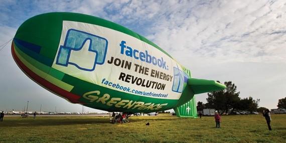 חברים ביקורתיים*: למה גרינפיס משבחים את גוגל ומגנים את פייסבוק?