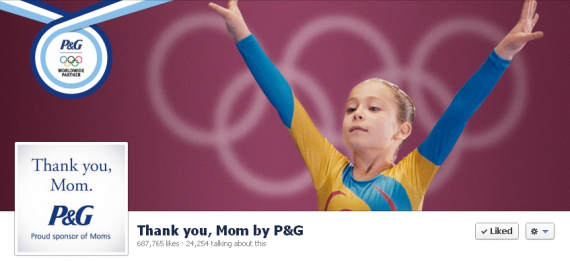 A Gold Medal for the P&G's Cause Marketing Campaign at the Olympics, Thank You, Mom