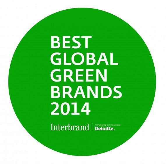 המותגים הגלובלים הירוקים ביותר 2014 Interbrand