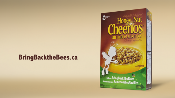 דגני הבוקר צ'ריוז יוצרים באזז למען הדבורים הנכחדות