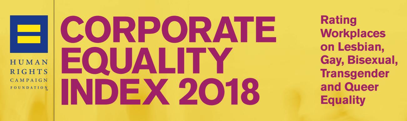 מדד השוויון בעבודה האמריקאי CEI 2018