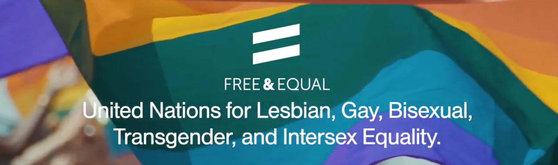 UN FOR LGBT